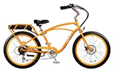 """Pedego Comfort Cruiser 26"""" Classic Orange with Black Balloon Package 36V 10Ah"""
