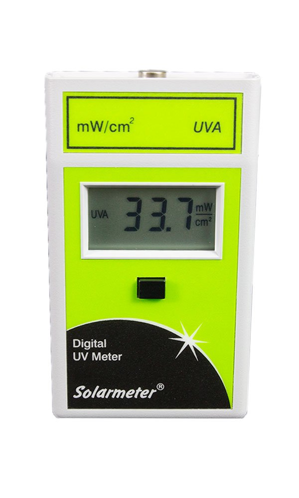 Solarmeter Model 4.0 Standard UVA Meter - Measures 320-400nm with Range from 0-199.9 mW/cm² UVA by Solar Light Company, Inc