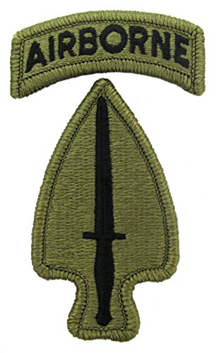 (Special Operations Command Patch with Airborne Tab (MULTICAM (OCP)))