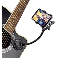 Mtlee Guitar Smart Phone Holder Stand Support Mount for iPhone Samsung HTC LG Sony Nokia Smartphones