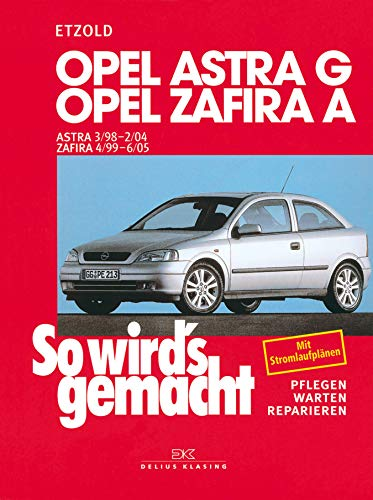 Opel Astra G 3/98 bis 2/04: Opel Zafira A 4/99 bis for sale  Delivered anywhere in USA