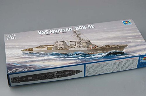 Trumpeter 1/350 Scale USS Momsen DDG92 Arleigh Burke Class Destroyer