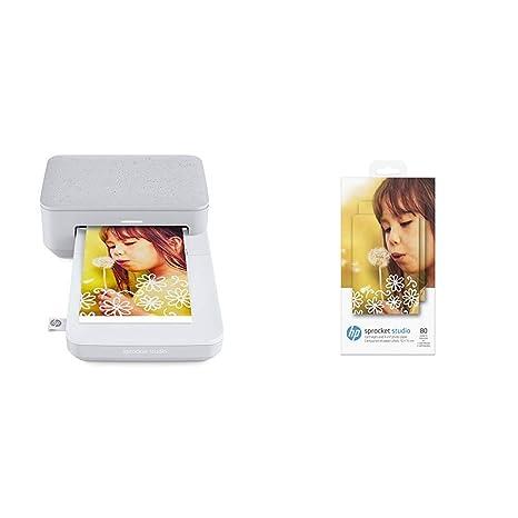 Amazon.com: HP Sprocket Studio Photo Printer Interno Negro ...