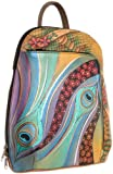 Anuschka 487 DNP Backpack,Dancing Peacock,One Size, Bags Central