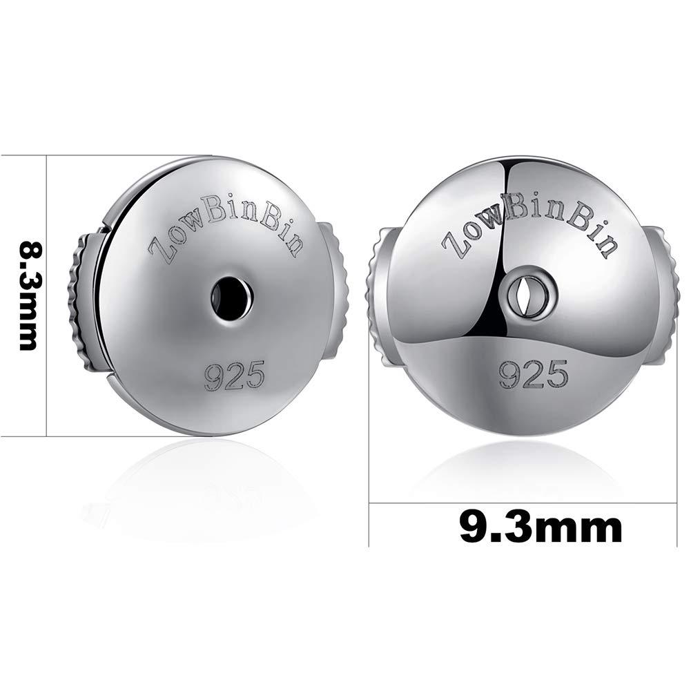 Earring Backs Earring Backs Locking Earring Backs Secure Earring Backs for Studs Sterling Silver Hypoallergenic Earring Backs Stud Earring Backs Safety Earring Backs Replacement Posts Earring Backs