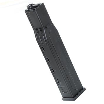 Airsoft Gear Parts Accessories 140rd Mid-Cap Mag Plastic Magazine for M4//M16 Series AEG Black