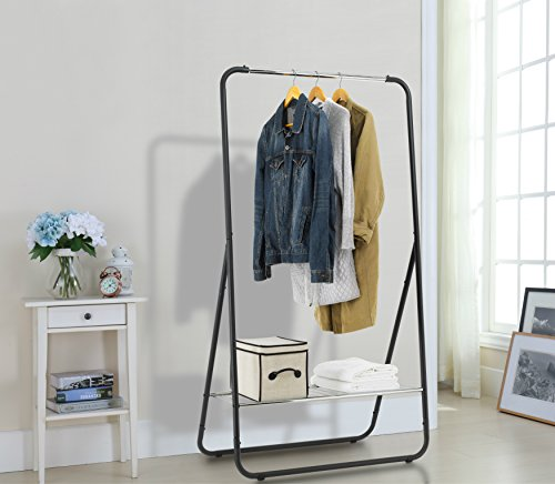 garment rack with shelf - 4
