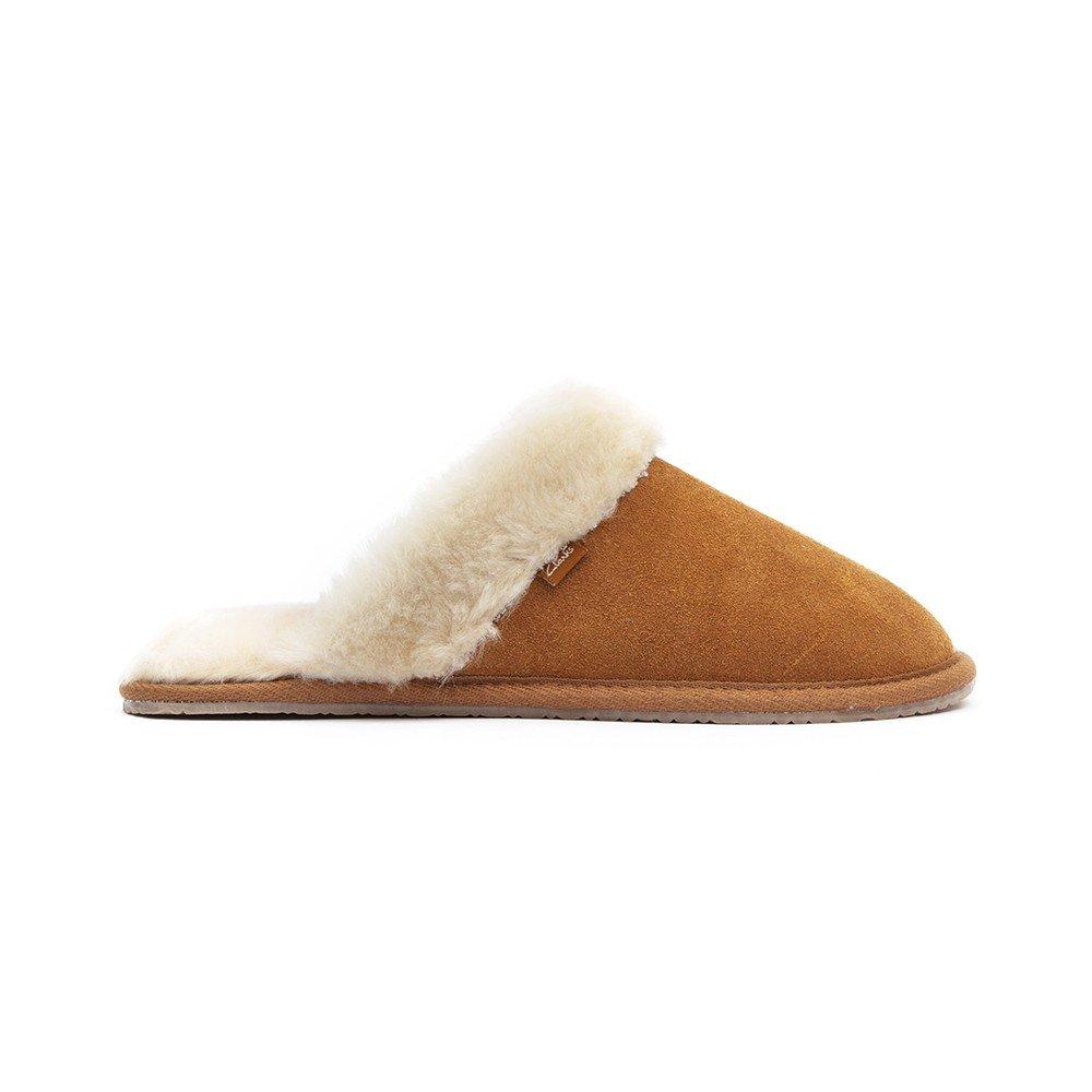 b1b827511e2e9 Clarks Womens Seasonal Clar Wren Bird Suede Slippers In Tan Standard Fit  Size 8: Amazon.co.uk: Shoes & Bags