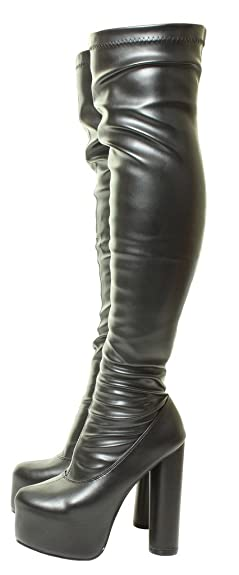 Sexy womens boots wide calf