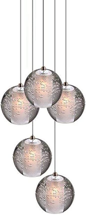 Modern LED Chandelier Light Fitting 16 LED Lights Bubble Chandelier Restaurant Hanging Lamp Pendant Suspension Drop Lighting