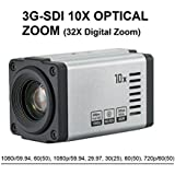 AED Full HD 1080p, 1080i, 3G-SDI, 60fps/59.94fps, 10x Opt, x32 digital zoom (5.1mm-51mm), Real-time True WDR, Digital Image Stabilizer, VISCA protocol support, Built-in lens POV Professional Camera