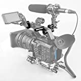SmallRig Camcorder LCD Screen Mounting Clamp Adapter for Sony PXW-FS5 / Panasonic EVA1 Camera - 1831