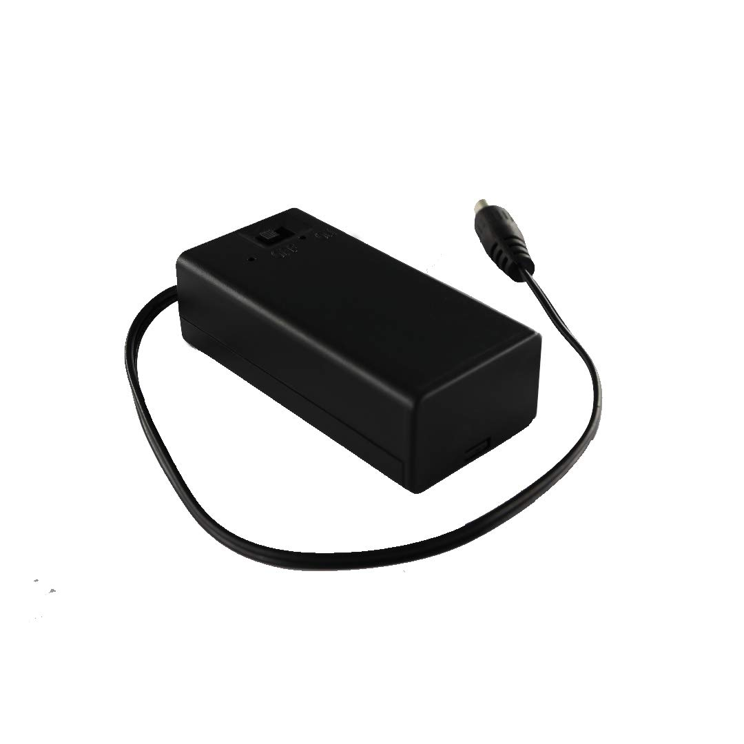 DC 2.1mm Plug of New 9V Battery Holder Box Case Wire Lead ON/Off ...
