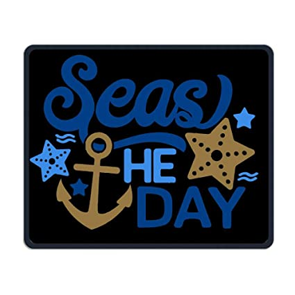 ca79331731037 Amazon.com: TELL ME Seas The Day Fashion Mouse Pad Rubber Mouse Pad ...