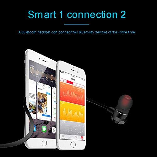 AGKupel Bluetooth Headphones, Magnetic Wireless Earbuds, Bluetooth Sports Earphones Headsets Earpieces Microphone Noise by AGKupel (Image #3)