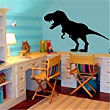 Vinyl Removable Wall Stickers Mural Decal Art Family Decals Chalkboard Cartoon Dinosaur Stickers for Kids Room for Nursery Kid Room
