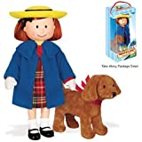 Yottoy Madeline 8 Poseable Doll w 4 Genevieve in Take-Along Pkg