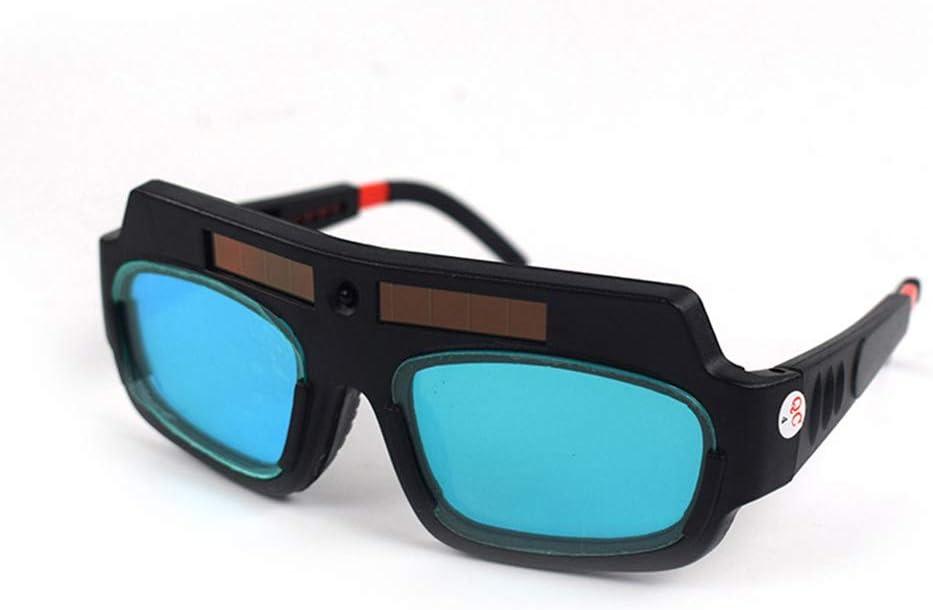 LAIABOR Gafas de Soldar de Oscurecimiento Automático, Solar-para protección de Soldadura TIG MIG MMA