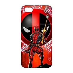 Cool-benz Red cloth deadpool 3D Phone Case for iPhone 4/4s