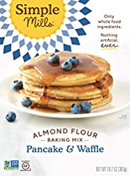 Simple Mills Almond Flour Pancake Mix & Waffle Mix, Gluten Free 10.