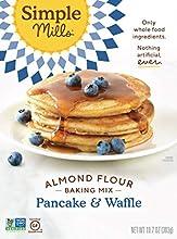 Simple Mills Almond Flour Pancake Mix & Waffle Mix, Gluten Free 10.7 Oz