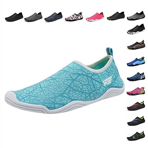 96153a27754c CIOR Water Shoes Men Women Aqua Shoes Barefoot Quick-Dry Swim Shoes with 14  Drainage Holes for Boating Walking Driving Lake Beach Garden Park  Yoga