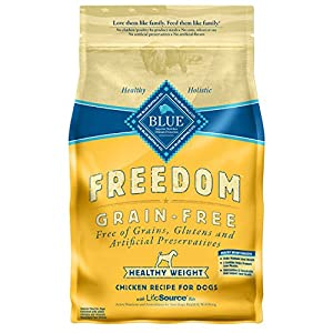 Blue Buffalo Freedom Grain-Free Recipe for Dog, Chicken, 24 lb