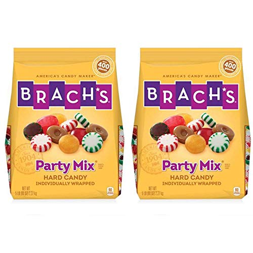 Party Mix Individually Wrapped Hard Candies Variety Pack, 5 Pound Bulk Candy Bag