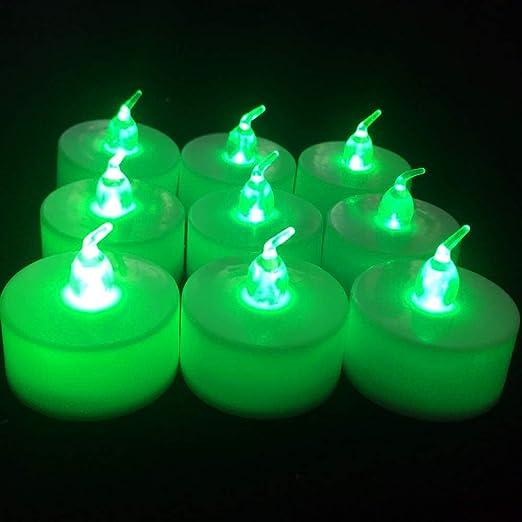 wangZJ Luz de vela led/vela electrónica/Suministros ...
