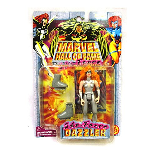 Marvel Dazzler Comics Hall of Fame SHE-Force Series 1997 Action Figure and Collector Trading - Hall Marvel Of Fame