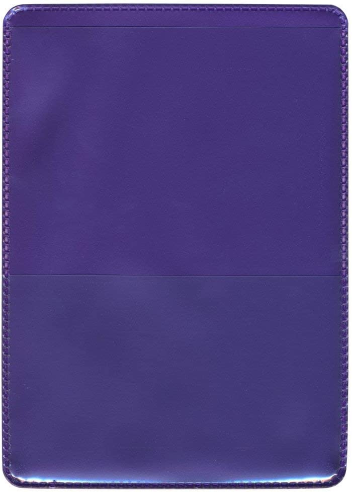 StoreSMART - Metallic Purple Back Auto Insurance & ID Card Holder - Single Pack - RFS20-MP1