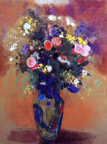 Odilon Redon Bouquet in a Persian Vase - 21.05