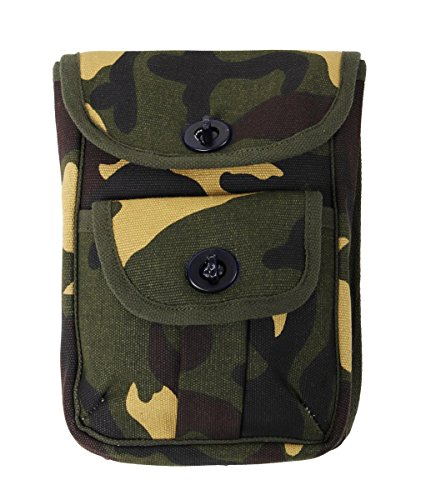 Rothco Camouflage 2-Pocket Ammo Pouch