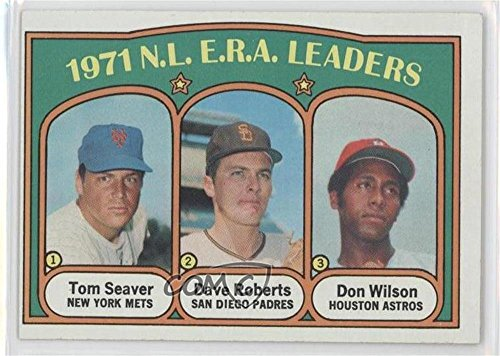Tom Seaver; Dave Roberts; Don Wilson (Baseball Card) 1972 Topps - [Base] #91