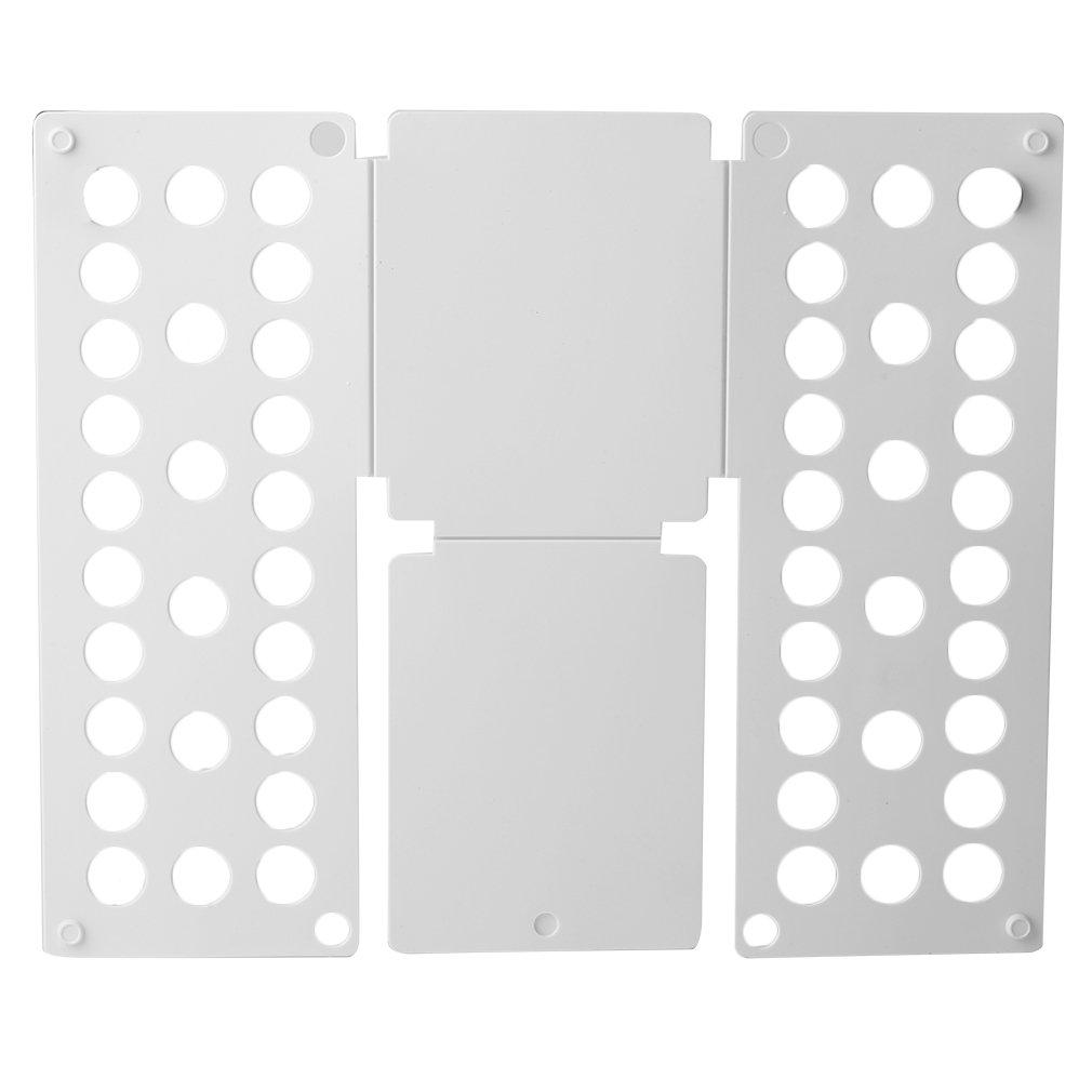 Taotuo Clothes Folder Folding Board,Home Convenient Clothes Folder Organizer Plastic Quick Shirt Folding Board