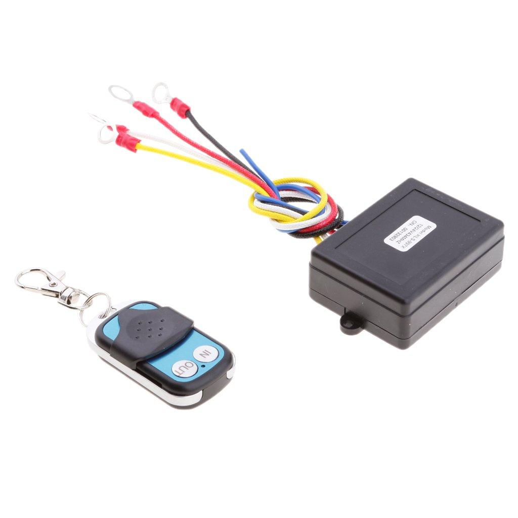 MagiDeal Telecomando Wireless Kit Verricello 12V 24V KLS-997 Auto ATV SUV