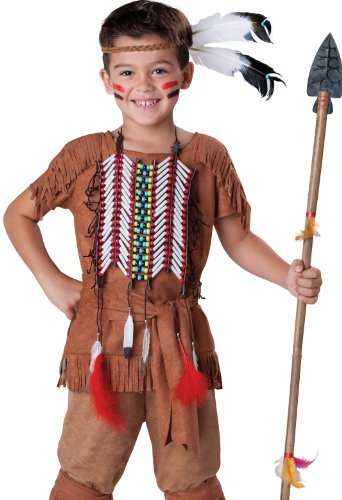 In Ch (Indian Warrior Boy Costume)
