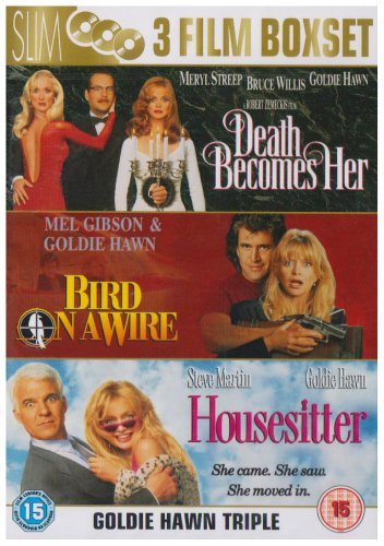 death becomes her-bird on awire-housesitter / la morte ti fa bella-due nel mirino-moglie a sorpresa box set dvd Italian Import