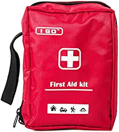 I GO A1FA02 Expedition First Aid Kit Emergency Survival Bag, Best Hiking, Backpacking, Camping, Travel, Car & Cycling, Outdoors Sports, Small & Compact