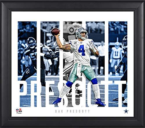 Dak Prescott Dallas Cowboys Framed 15