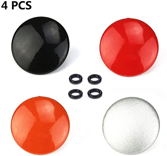 LXH 4 PCS Camera Metal Bulged Surface Soft Release Button Finger Touch for Fujifilm X100F X100T X100S XPRO-1 X-PRO2 X-E2 X-E2S X30 X-T10 X-T20 STX-2 Leica M3 M6 M7 M8 M9