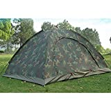Outdoor Camping Waterproof 2-3 Person Folding Tent Camouflage Hiking 2017 A
