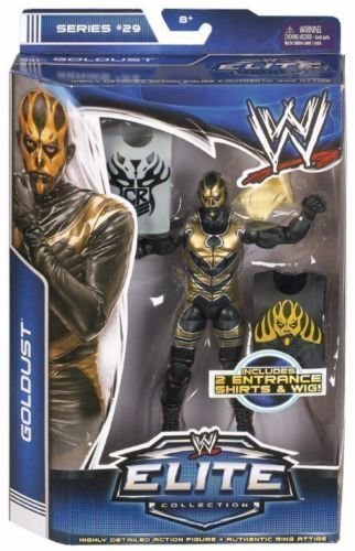WWE Goldust Mattel Elite Series 29 Wrestling Figure In Box by WWE
