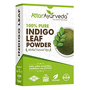 Attar Ayurveda Indigo Powder for black Hair (200 gram)