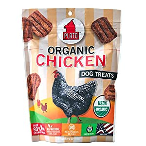 Plato Pet Treats Organic Chicken