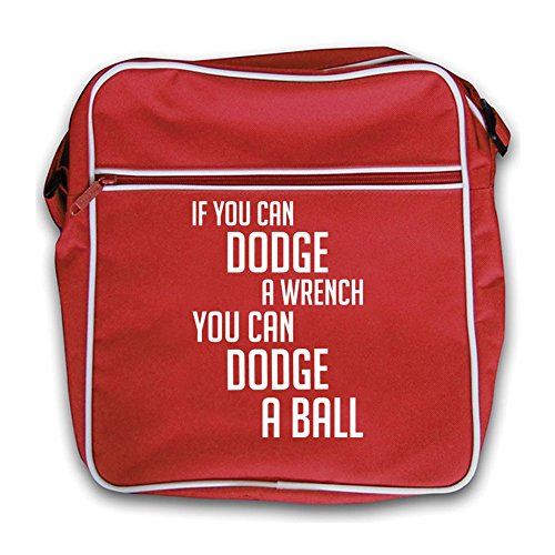 Bag Red You Retro Ball red A Wrench If Can Flight Dodge ZFx7w8q