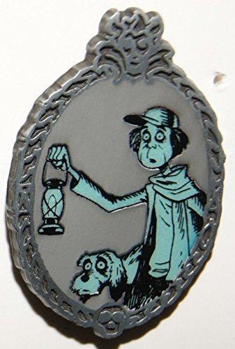 (Disney Parks Haunted Mansion Glow in the Dark Pin ~ Caretaker with Dog)