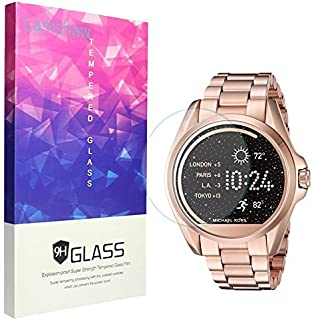 93902b3873efe Michael Kors Screen Protector, Lamshaw 9H Tempered Glass Screen Protector  for Michael Kors MKT5001 Smartwatch