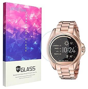 Michael Kors Protector de pantalla, lamshaw 9H vidrio templado Protector de pantalla para Michael Kors mkt5001 Smartwatch: Amazon.es: Electrónica