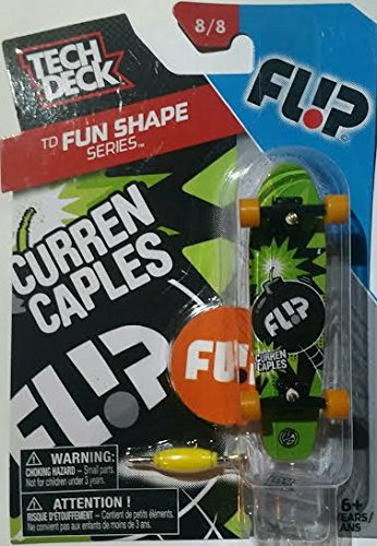 Amazon com: Tech Deck TD Fun Shape Series 8/8 - FLIP Curren